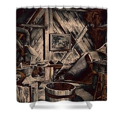 The Workshop Shower Curtain