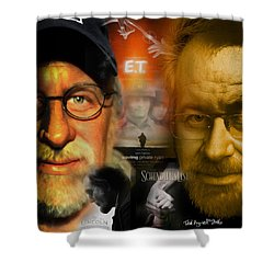 The World Of Steven Spielberg Shower Curtain by Ted Azriel