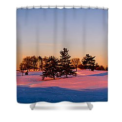 The Wrong Season Shower Curtain