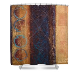 The X Factor Alchemy Of Consciousness Shower Curtain by Kerryn Madsen-Pietsch