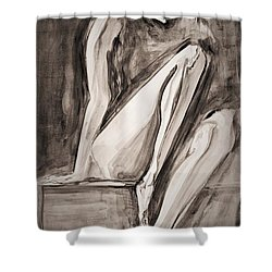 The Yearning Shower Curtain