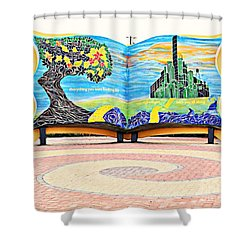 The Yellow Brick Road Shower Curtain