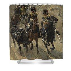 The Yellow Riders, George Hendrik Breitner, 1885 - 1886 Shower Curtain