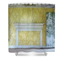 The Yellow Room No.3 Shower Curtain