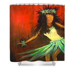 The Young Dancer Shower Curtain