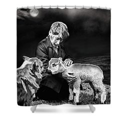 The Young Ones Shower Curtain by Pennie  McCracken