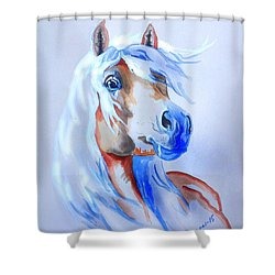 The Young Rebel II Shower Curtain