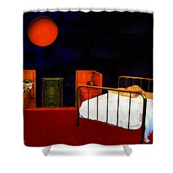 Theater Of Dreams Shower Curtain by RC deWinter