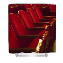 Shower Curtain featuring the photograph Theater Seating by Carolyn Marshall
