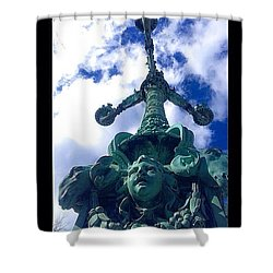 Gilded Age Shower Curtain
