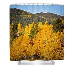 Them Thar Hills Shower Curtain