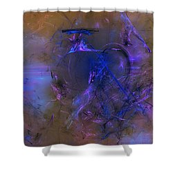 Then As Now Shower Curtain