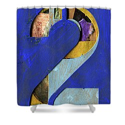 Thenumber 2 Shower Curtain