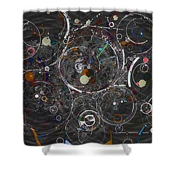 Theories Of Everything Shower Curtain