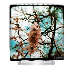 Therapy Shower Curtain by Andrew Paranavitana