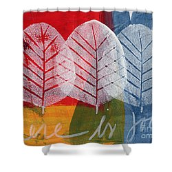 There Is Joy Shower Curtain by Linda Woods