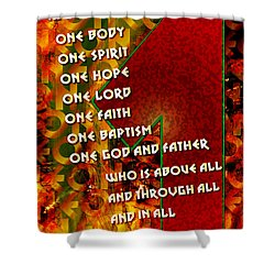 There Is Only One Shower Curtain by Chuck Mountain