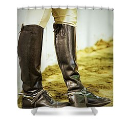 Theres Something About Horses Shower Curtain
