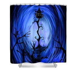 There's A Light Shower Curtain by Alessandro Della Pietra