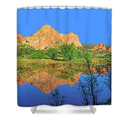 There's A Plenitude Of Awe-inspiring Rock Formations In Colorado.  Shower Curtain by Bijan Pirnia