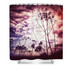There's Magic In The Air Tonight 💜 Shower Curtain
