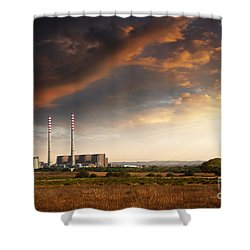 Thermoelectrical Plant Shower Curtain by Carlos Caetano