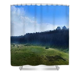 These Days Shower Curtain by Bernd Hau