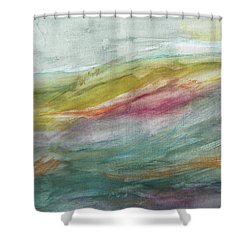 These Lonely Hills Shower Curtain