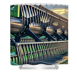 Shower Curtain featuring the photograph These Teeth Mean Business by Mark Dodd