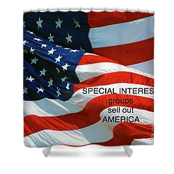 Shower Curtain featuring the photograph They Sell Us Out by Paul W Faust - Impressions of Light