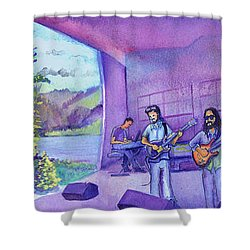Thin Air At Dillon Amphitheater Shower Curtain by David Sockrider