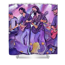 Thin Air At The Barkley Ballroom In Frisco, Colorado Shower Curtain
