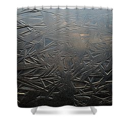 Thin Dusk    Shower Curtain