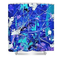 Thin Ice Shower Curtain