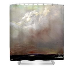 Things Are About To Change Shower Curtain by Frances Marino