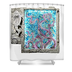 Things Of The Sea Shower Curtain