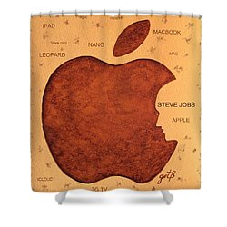 Think Different Steve Jobs  Shower Curtain