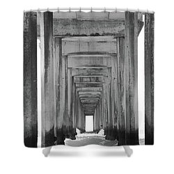 Shower Curtain featuring the photograph Think Outside Of The Box by Brandy Little