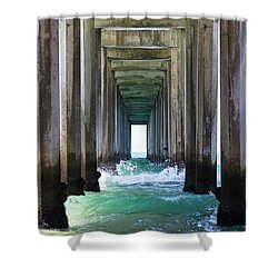 Shower Curtain featuring the photograph Thinking Outside Of The Box by Brandy Little