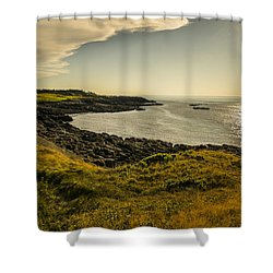Thinking Sunset Shower Curtain