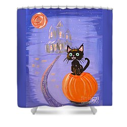 Things I Like Best At Halloween Shower Curtain