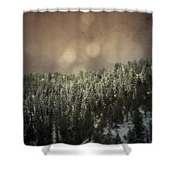 Third Breath  Shower Curtain