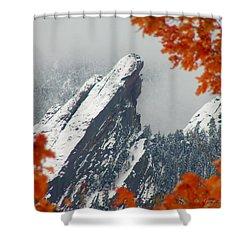 Third Flatiron Shower Curtain