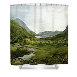 Thirlmere Shower Curtain by John Glover