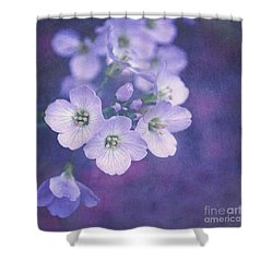 This Enchanted Evening Shower Curtain by Lyn Randle