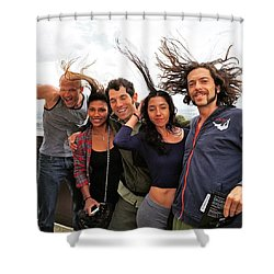 Hairpower Shower Curtain
