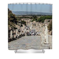 This Is Ephesus Shower Curtain
