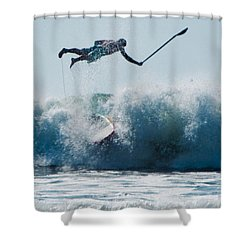This Is Going To Hurt Shower Curtain by Steven Natanson