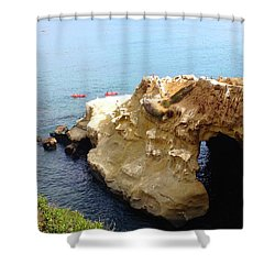This Is La Jolla Shower Curtain