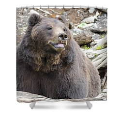 This Is Me Smiling Shower Curtain